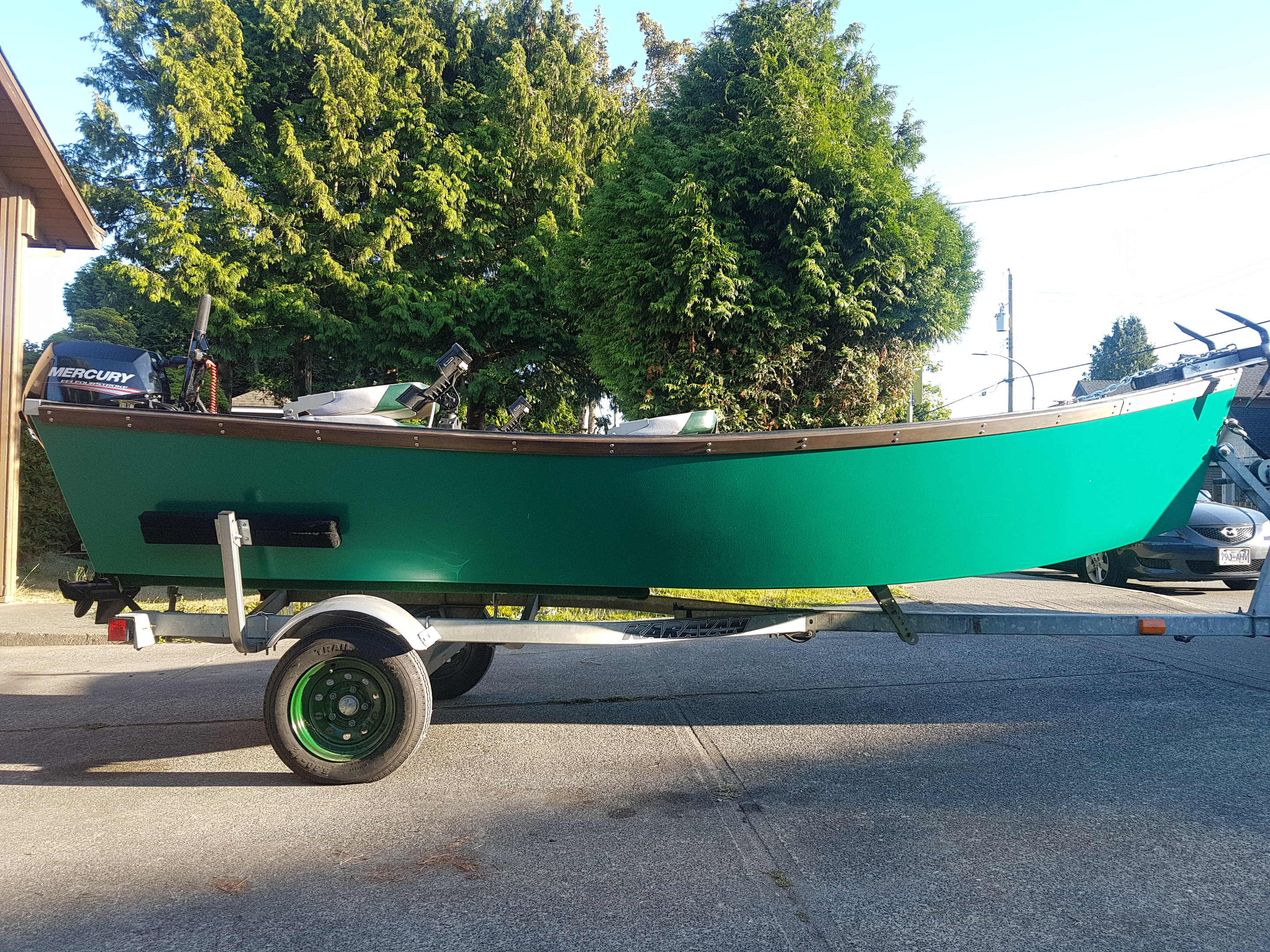 I Built It Myself Boat The Vancouver Wooden Boat Societythe